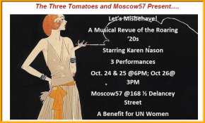 Let's Misbehave! A Musical Revue of the Roaring '20s to Benefit UNWomen